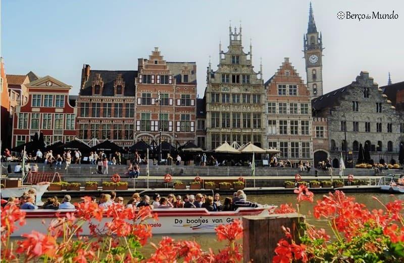 cidade medieval de Ghent