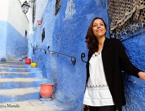 Chefchaouen, a cidade azul de Marrocos