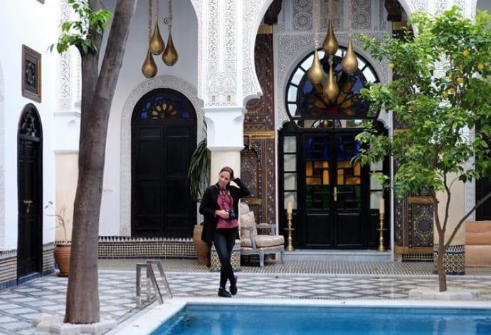 La Maison Bleue em Fez