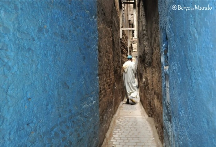 ruelas da medina de Fez