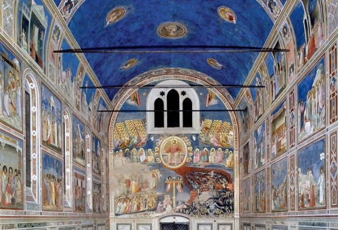 Frescos de Giotto em Pádua