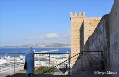 Vista sobre o porto de Tanger