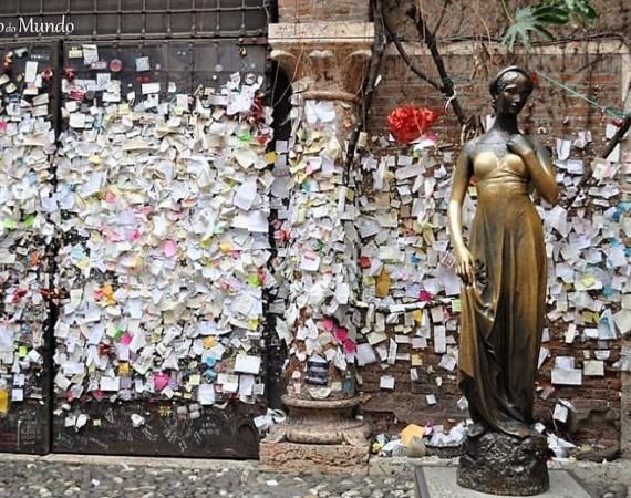 Estátua da Julieta em Verona