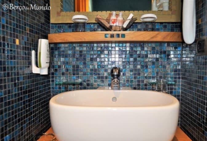 casa de banho do hotel