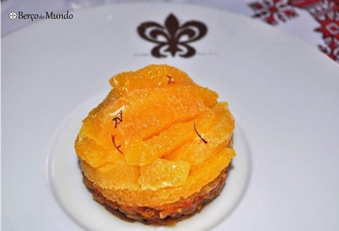 A laranja é bastante usada na cozinha marroquina