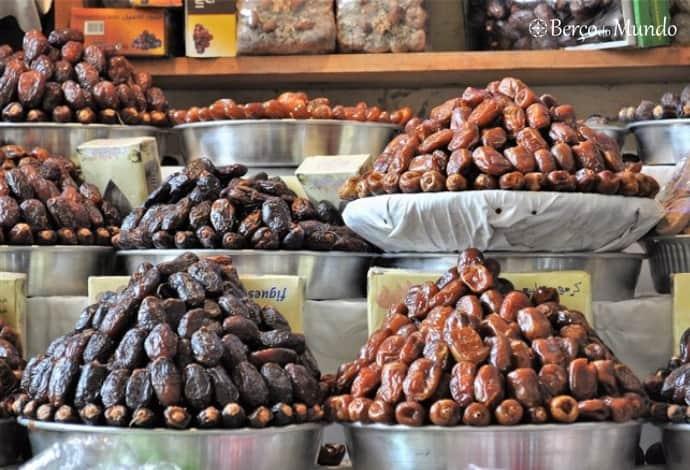 As tâmaras fazem parte da cozinha marroquina