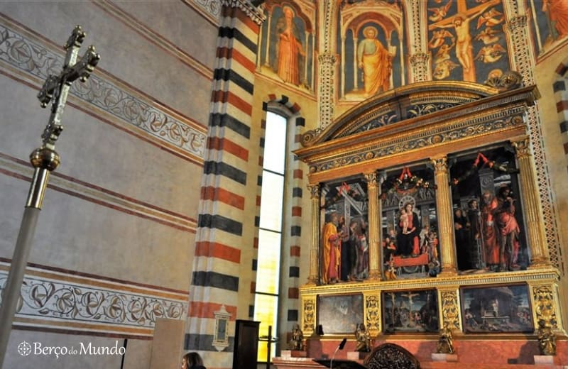 retábulo de San Zeno, de Andrea Mantegna