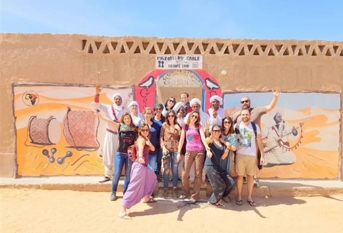 grupo em Marrocos
