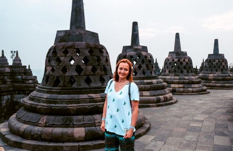 Marlene em Java, Indonésia