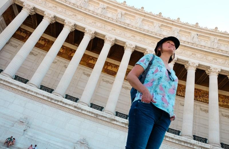 Marlene em Roma