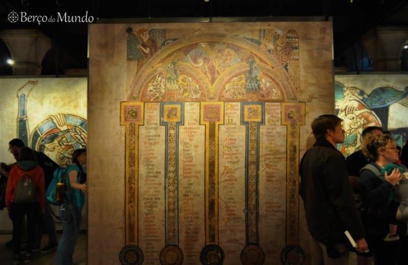 exposição Book of Kells
