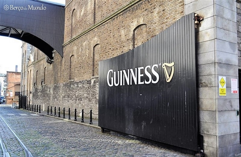entrada da Guiness Storehouse