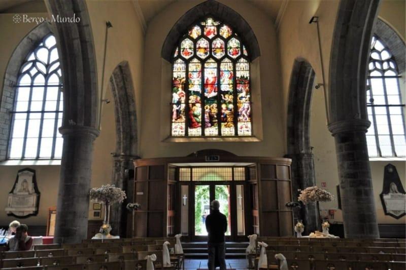 igreja no centro de Galway