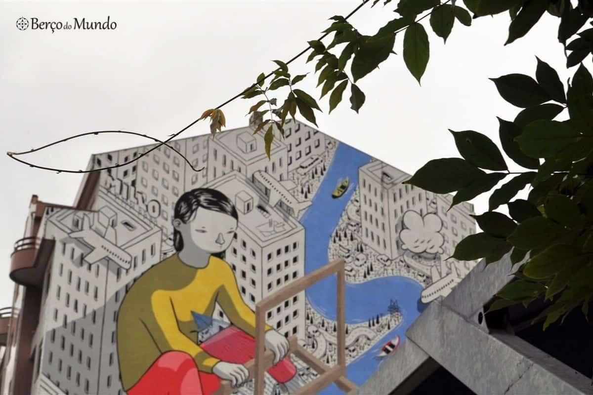 Arte urbana em Estarreja