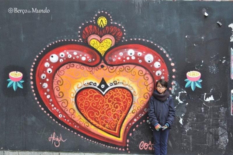 mural no Porto