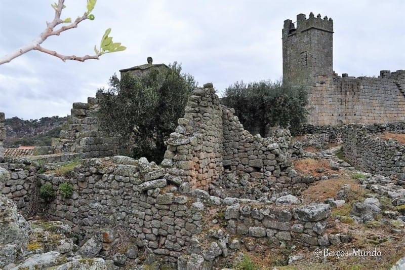 ruínas do castelo de Marialva