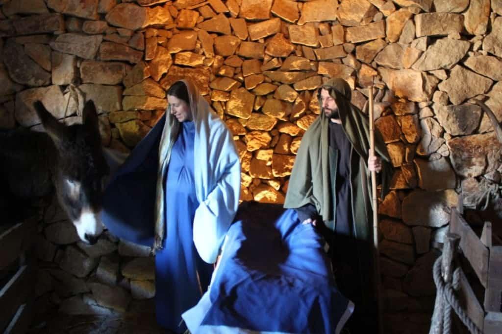 presépio de Priscos é tradicional do Natal em Portugal