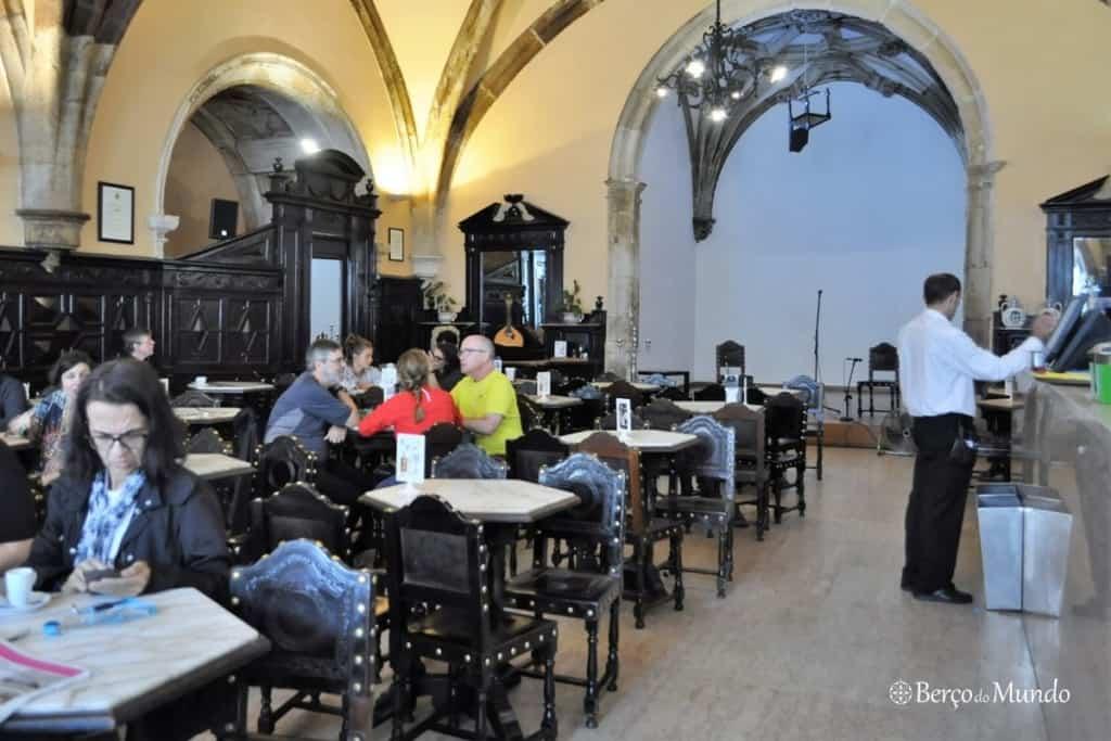interior do Café Santa Cruz