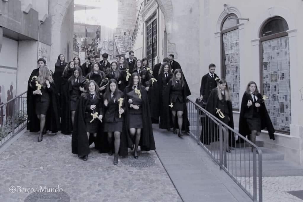 estudantes de Coimbra
