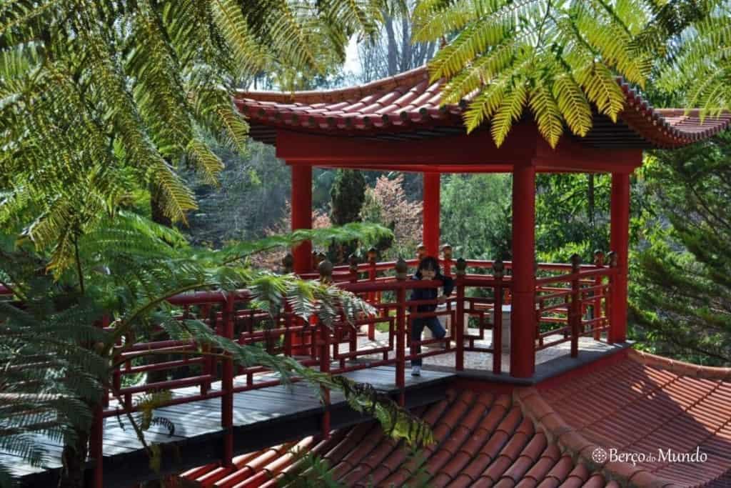 Jardim Monte Palace na Madeira
