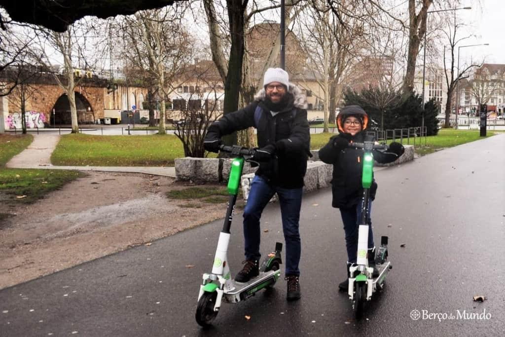 scooters elétricas em Colónia