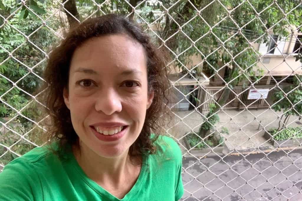 em isolamento no Rio de Janeiro