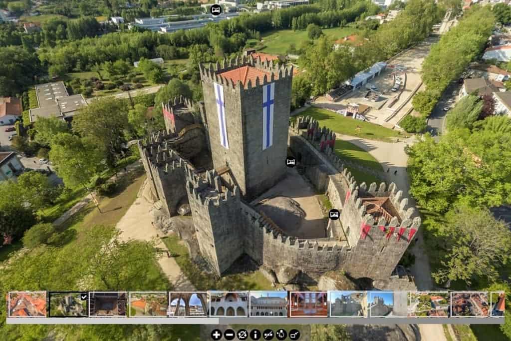 Castelo de Guimarães online