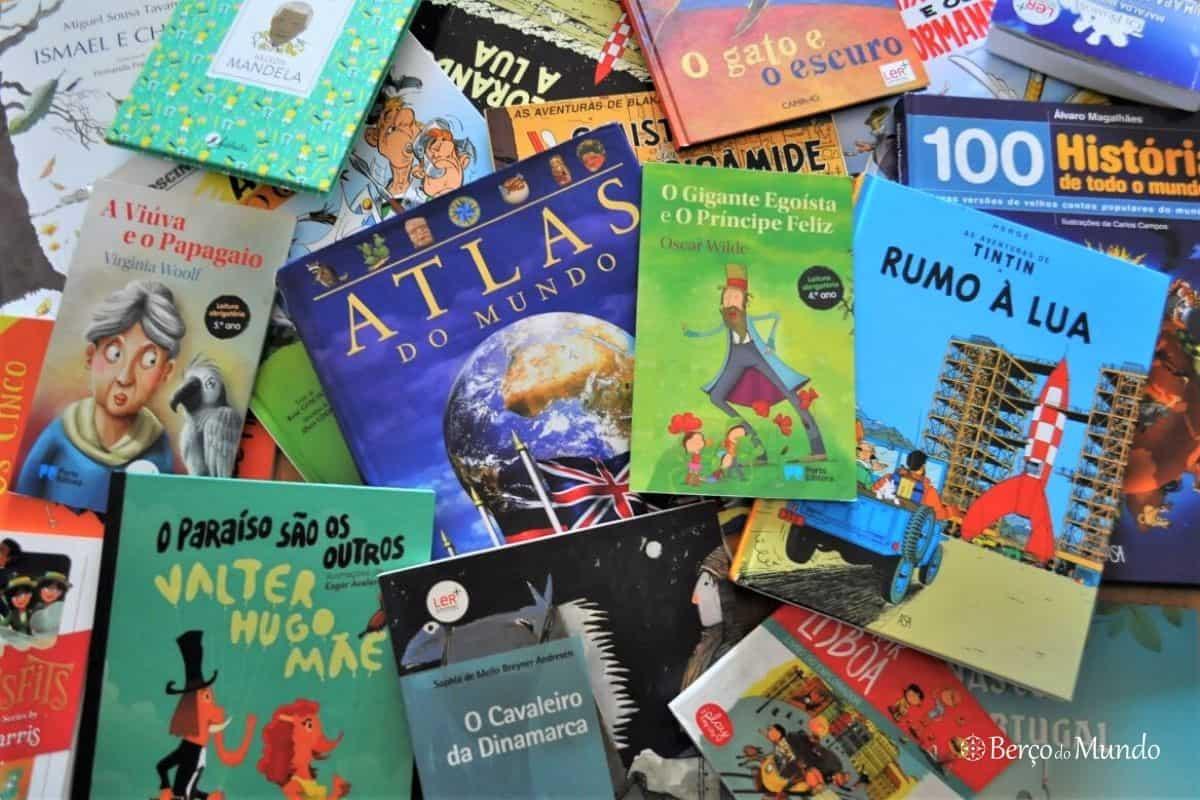 Livros para pequenos viajantes
