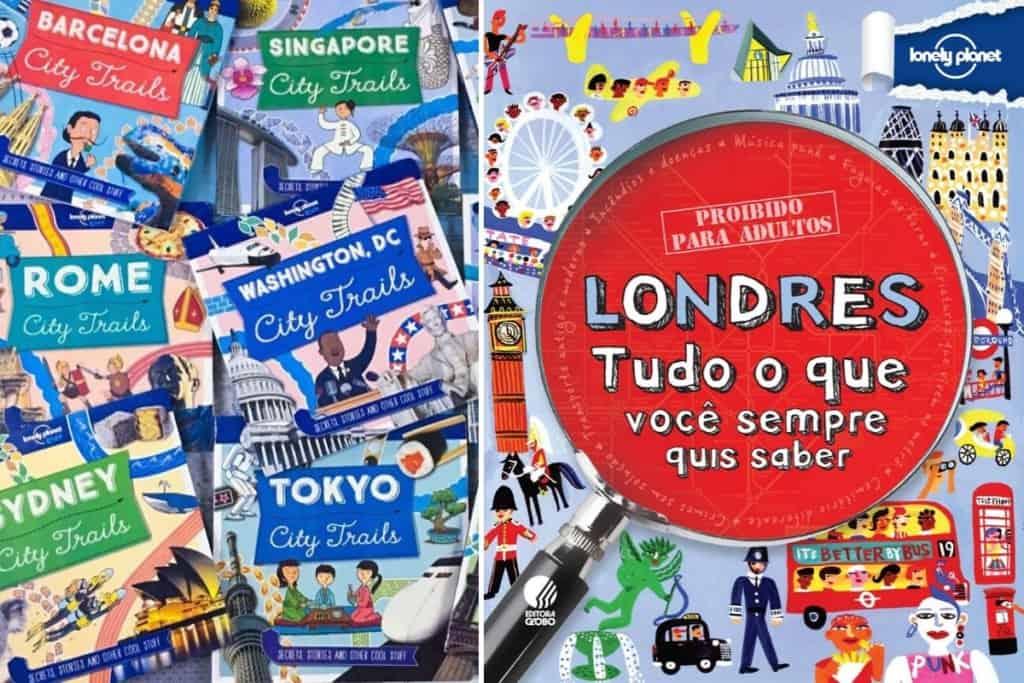 guias de viagem para crianças