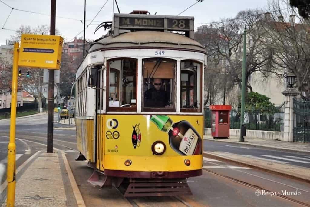 eléctrico 28 de Lisboa