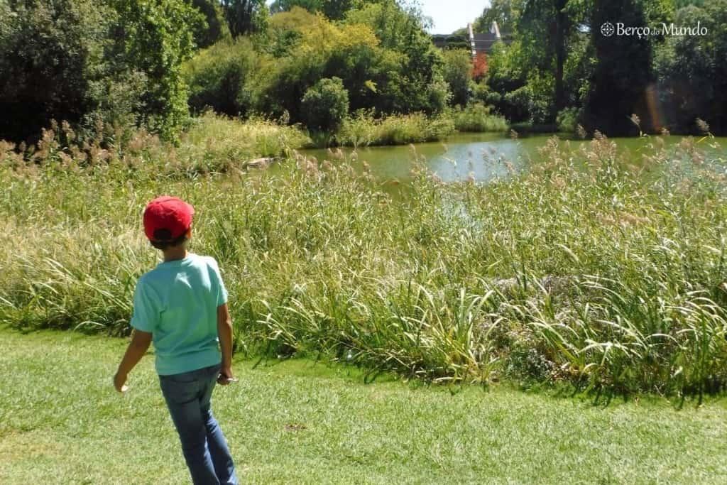Há vários jardins em Lisboa para as crianças correrem