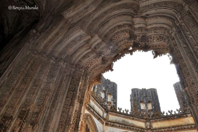 mosteiro da Batalha em Portugal