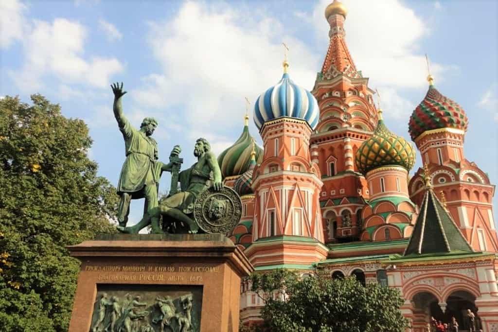 Sonhar com a Rússia