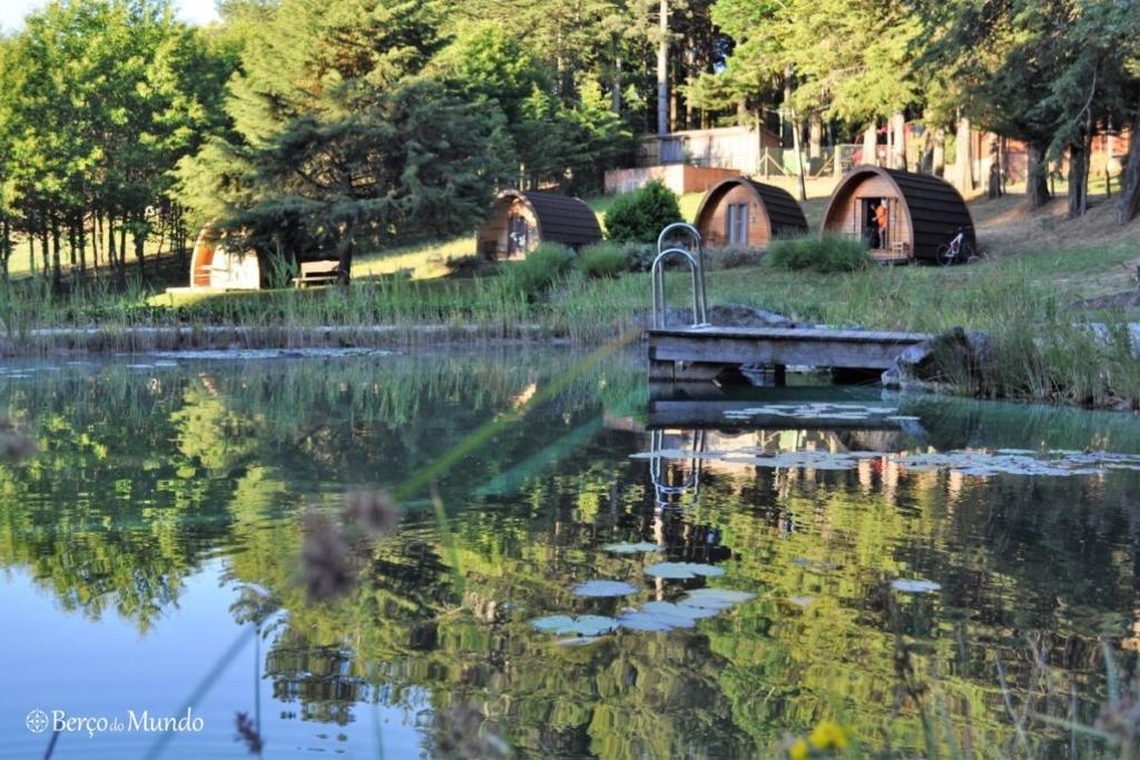 piscina biológica do Parque