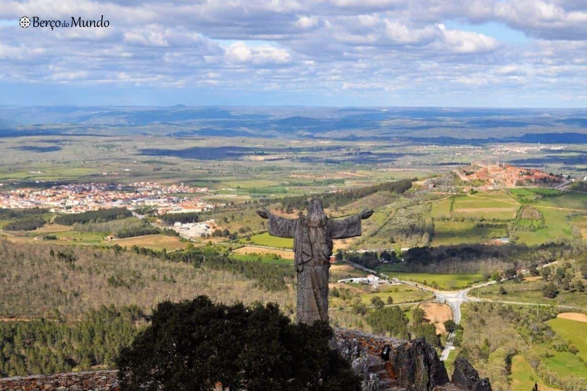 Paisagem sobre Castelo Rodrigo
