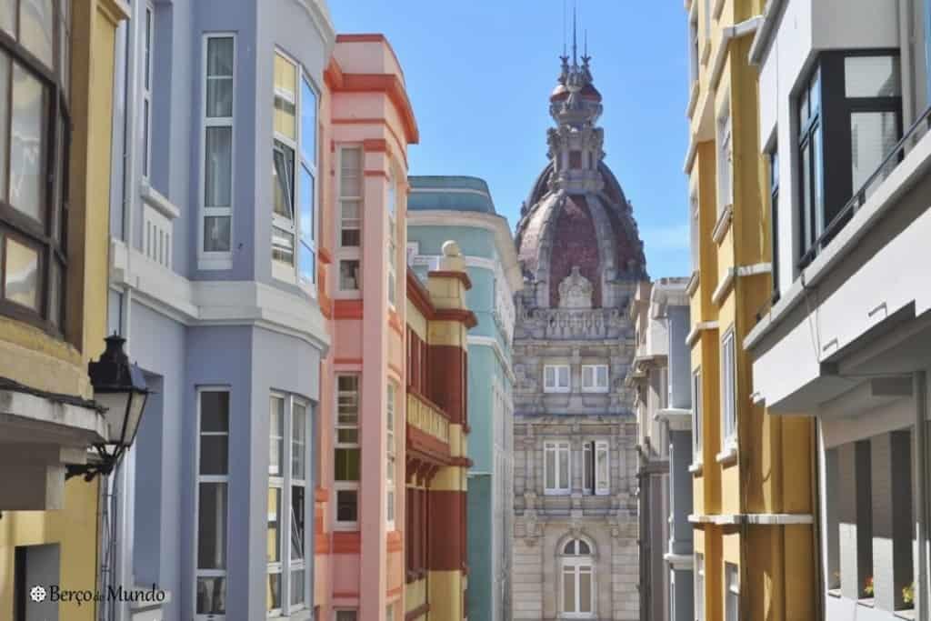 Cidade da Corunha, na Galiza