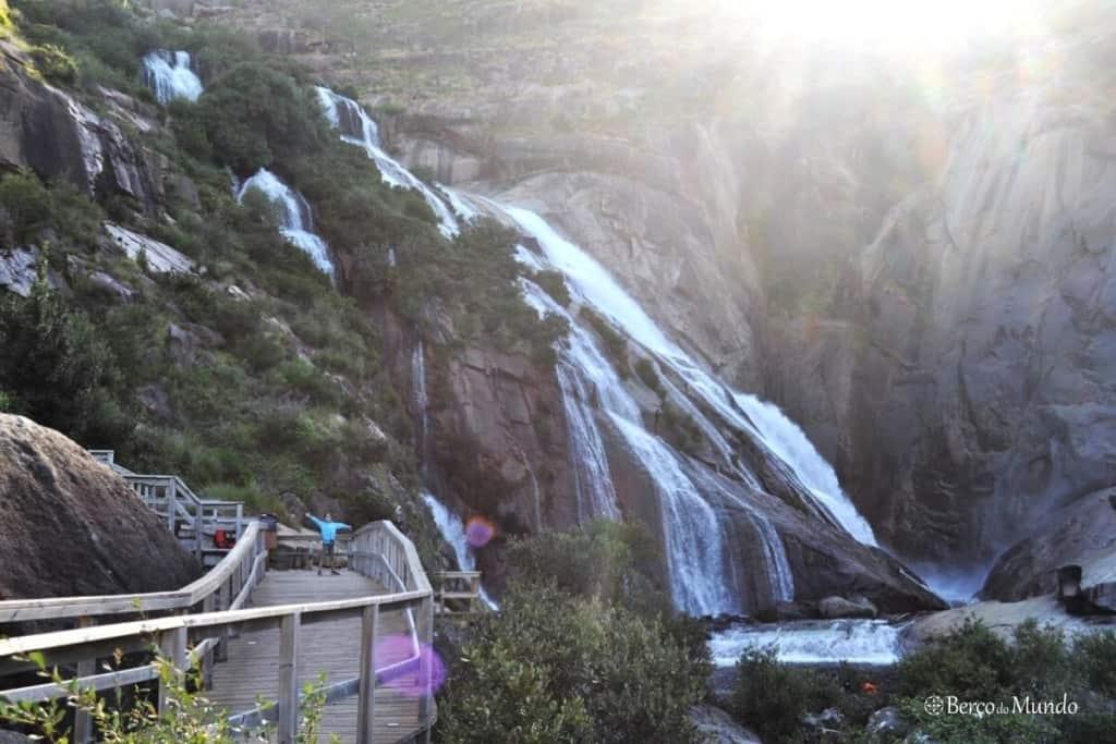 cascata de Ézaro