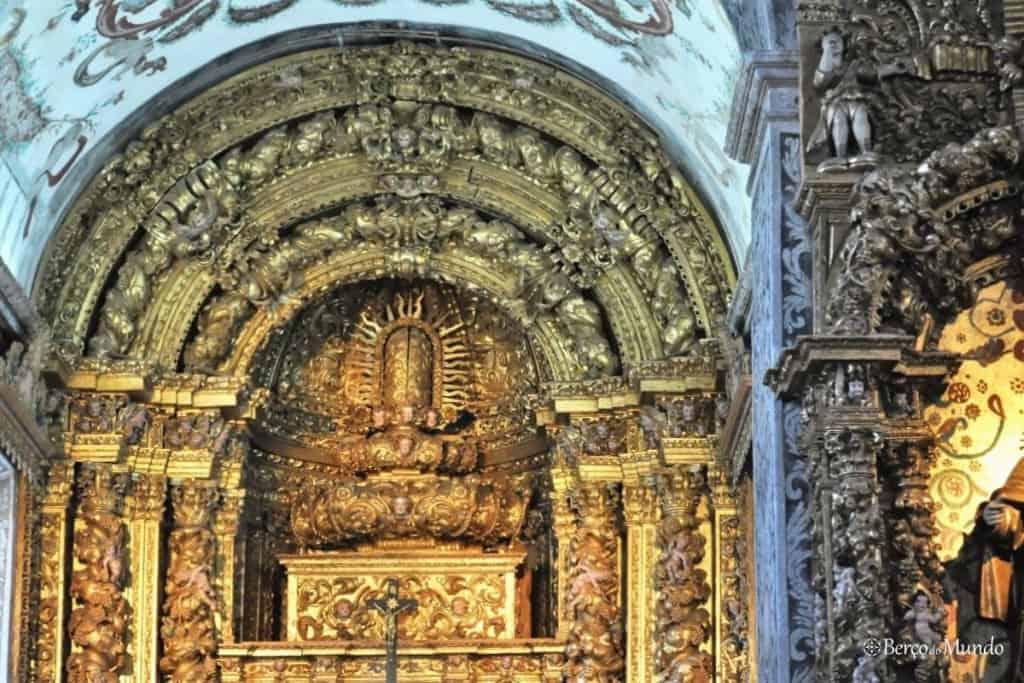 igreja barroca de Louredo