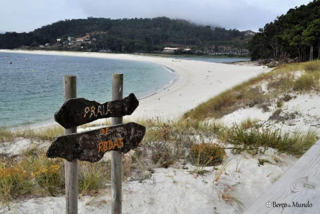 Praia de Rodas, nas Cíes