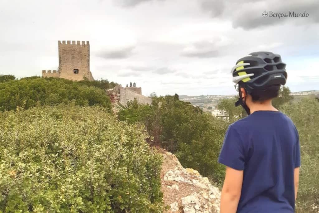bike tour em Óbidos com crianças