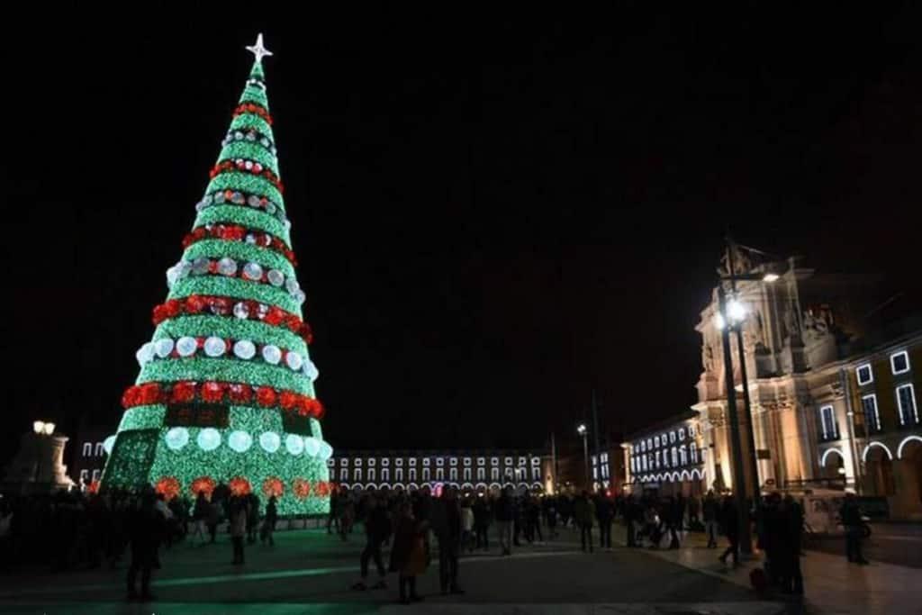Árvore de Natal em Lisboa