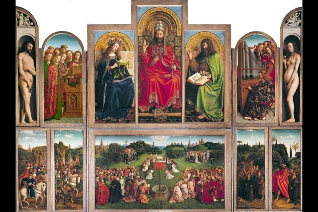 Van Eyck foi um dos grandes pintores flamengos