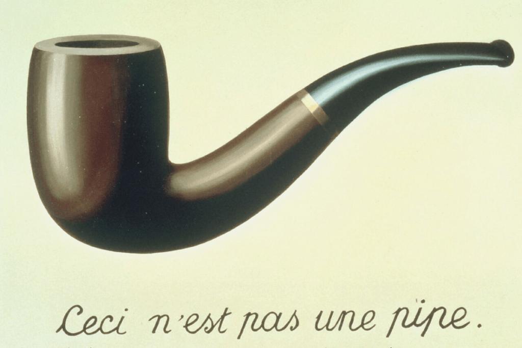 A tela de Magritte está entre as pinturas mais famosas do mundo