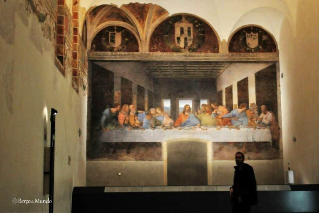 A Última Ceia tinha que estar na lista de pinturas mais famosas
