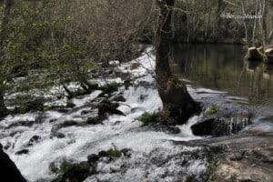 rio Tuela que dá nome ao trilho