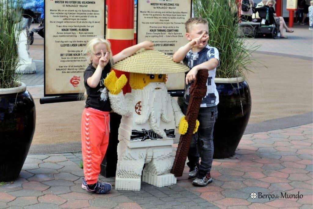 Legoland é um clássico para levar as crianças na Dinamarca