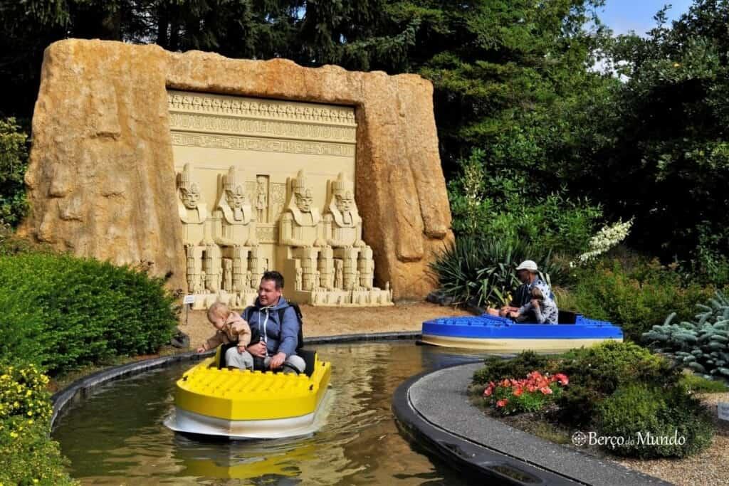 Crianças na Legoland Dinamarca