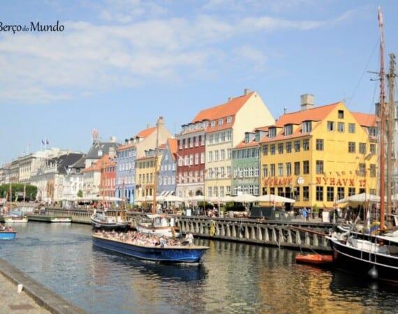 região de Nyhavn em Copenhaga