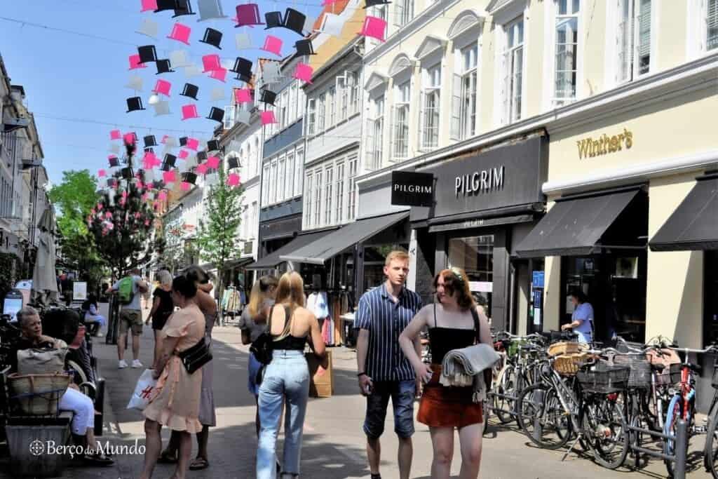 ruas de Odense, Dinamarca
