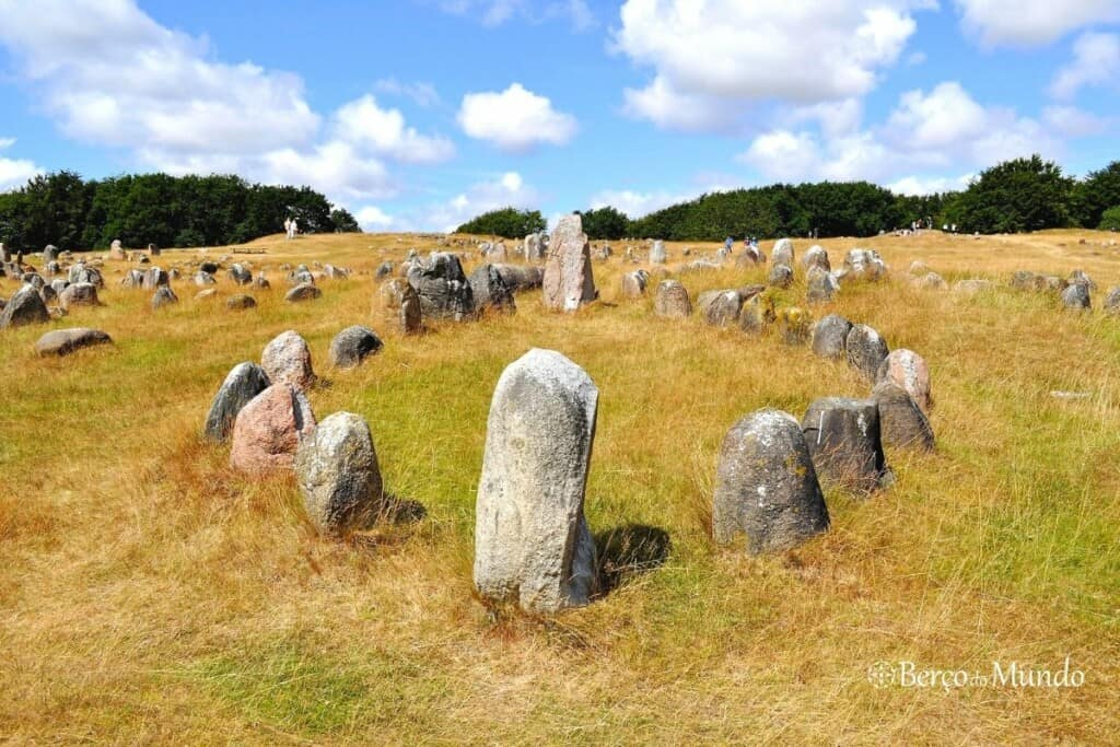 túmulo viking em Aalborg